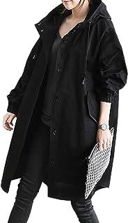KOUCLA women/'s Khaki /& Nero Cappotto Giacca Bomber alla moda-Taglia