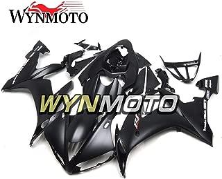 WYNMOTO Fairing Kit For Yamaha R1 YZF1000 R1 2004 2005 2006 Black Matte Grey Decals Fairings Set