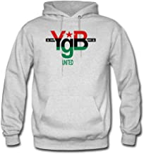 ATHLETE ORIGINALS Men's Hoodie by YgB United United YgB United – Pan African in #007 D44 (Flex Print) M Ash