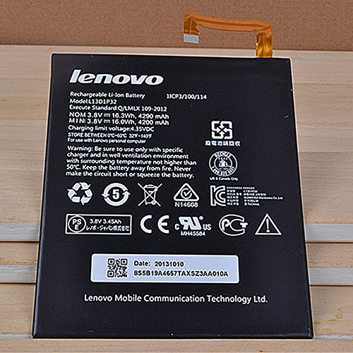 KTC Computer Technology freies Verschiffen Original für Lenovo IdeaTab A8-50 A5500 Akku L13D1P32 wiederaufladbare Li-Polymer Ersatz