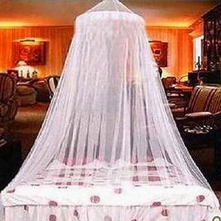 Comficent Mosquitera de Dosel de la Cama de Encaje Elegante Blanco Cobertura Completa protecci/ón Para Mantener Todos Los Voladores Insectos