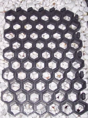 ARNDT Rasenwaben / Paddockplatten / Rasengitter 50 x 40 cm in schwarz 10 Stück = 2 m²