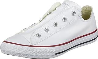 6e35ba8e9ec34 Converse Chuck Taylor AS enfants Slip Blanc Blanc 3V018