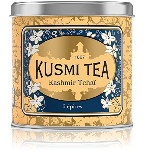 Kusmi Tea – Kashmir Tchaï – Schwarztee & Asiatische Gewürze – Metalldose mit 250 g