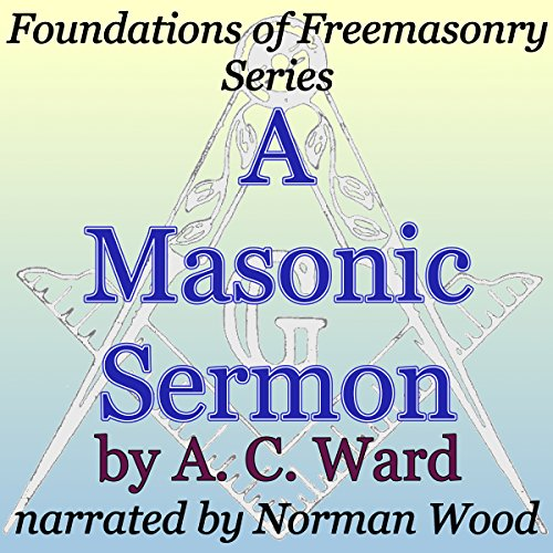 A Masonic Sermon audiobook cover art