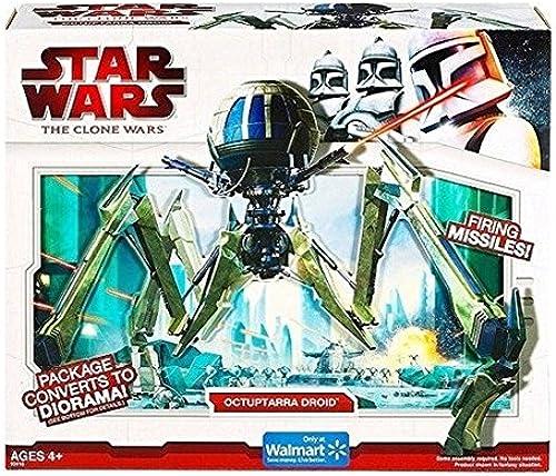 Hasbro Star Wars The Clone Wars Fahrzeug Octuptarra Droid
