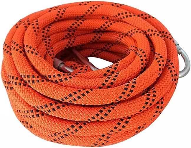 TLMYDD Corde auxiliaire de Travail d'escalade Corde de Rappel de Corde de Rappel diamètre de 10.5mm Cordes (Taille   15m)