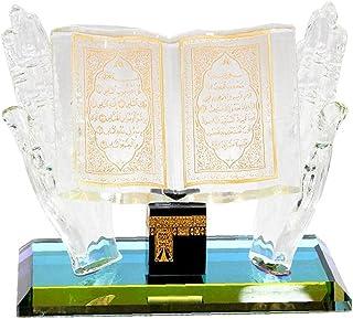 Eid Mubarak Craft Modèle Ramadan Handicraft Musulman Cristal Ornement Décoration de souvenirs pour Bureau à domicile Craft...