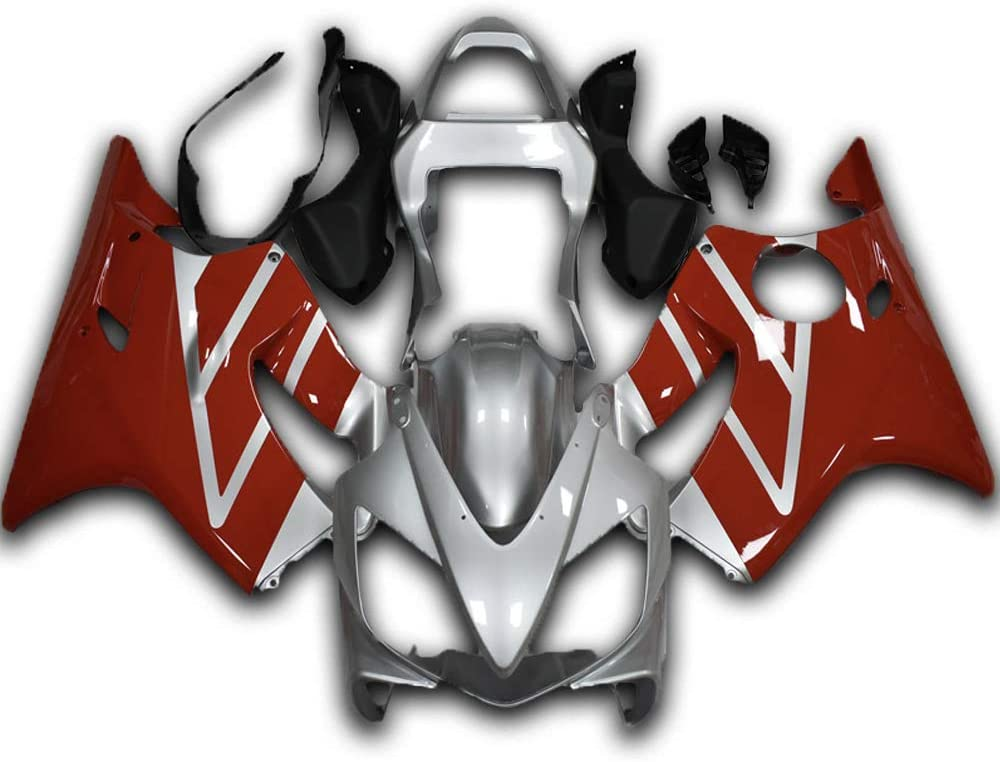NT FAIRING Silver Red Fairing Fit for 2001 CBR60 Courier Max 77% OFF shipping free 2003 2002 HONDA