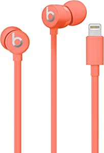 Beats urBeats3 Wired Earphones - Coral (MUHV2LL/A) (Renewed)