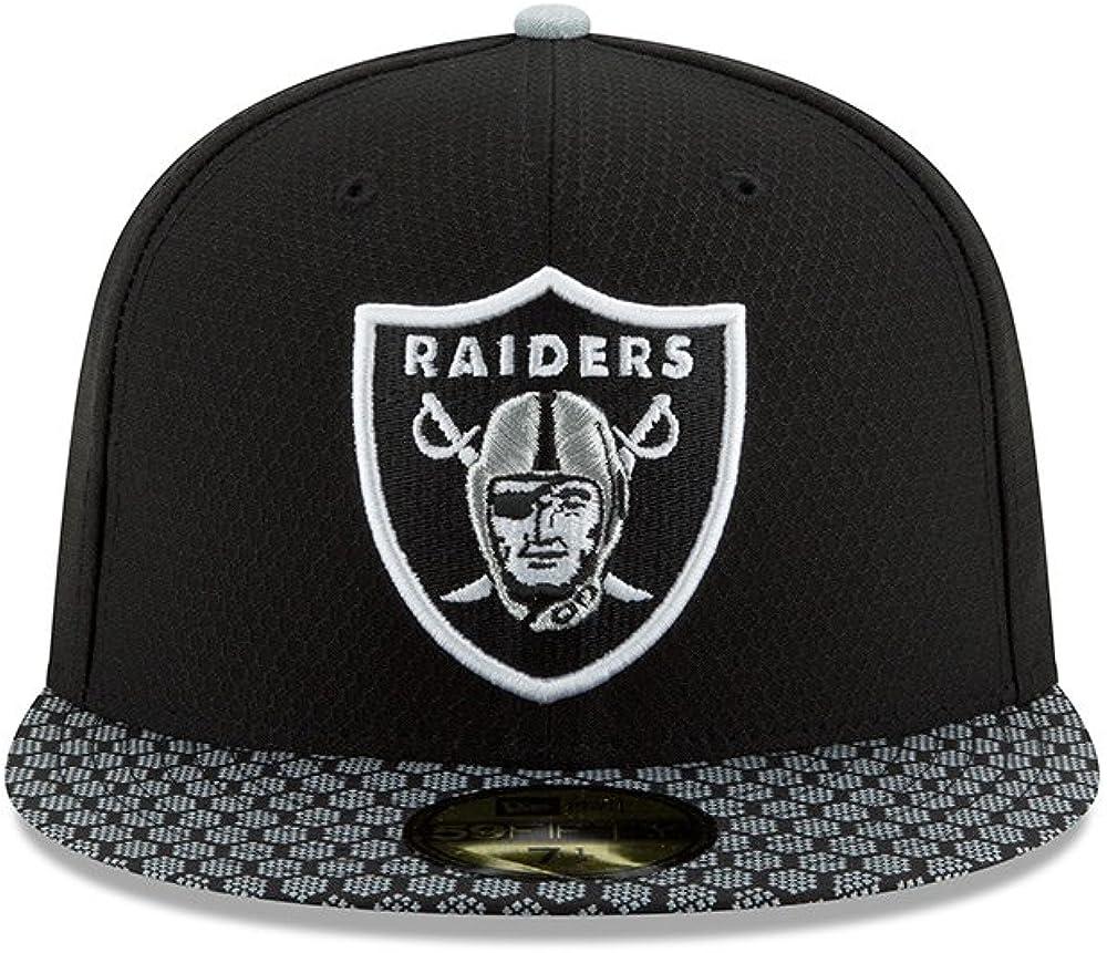 New Era 59Fifty Fitted Cap GREY II Oakland Raiders