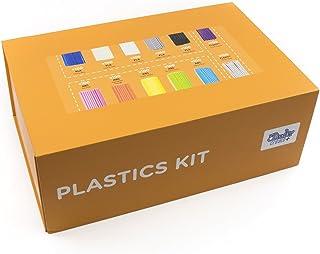 3Doodler 8Cplfilled Edu Create+ Learning Pack Plastic Kit, 1200 Strands