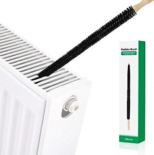 Cepillo del radiador, AIEVE Cepillo de limpieza del radiador largo Secador Cepillo para pelusas Lavadora flexible Cepillo ...