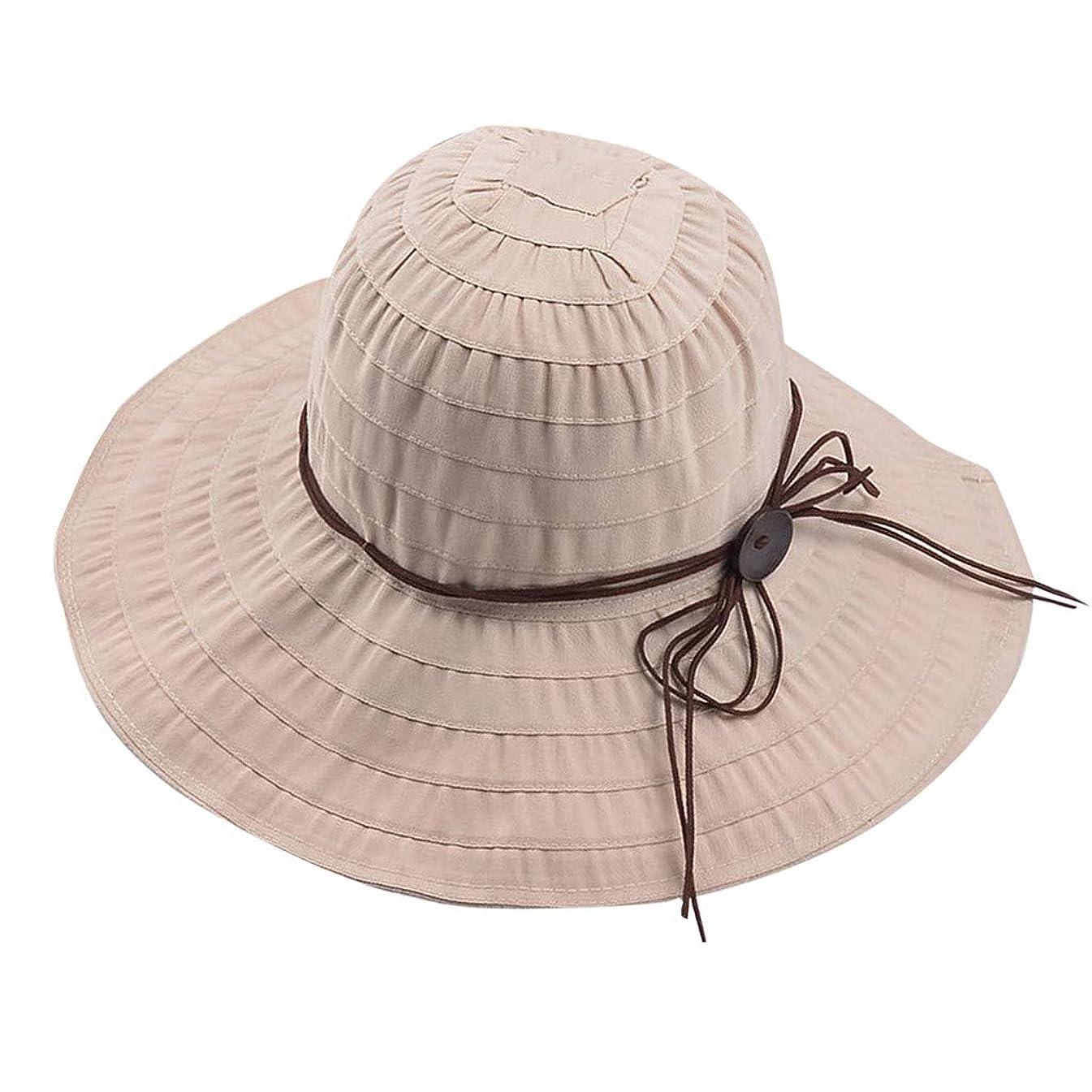 つづり聖なるトレイルUVカット 帽子 レディース ROSE ROMAN UV 100% カット つば広 漁師帽 夏 UVカット 帽子 ビーチ 紫外線対策 日焼け防止 日焼け 旅行用 日よけ 小顔効果 折りたたみ 海 旅行 ハットストレッチャー 帽子 ハンガー
