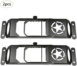4 puertas negro Para JK 2007-2017 pernos y arandelas con el asiento trasero de aluminio conjunto de tornillo de espalda