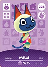 Mitzi - Nintendo Animal Crossing Happy Home Designer Amiibo Card - 226