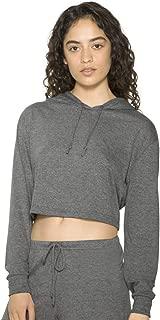 American Apparel  RSATR3353W Women's Tri-Blend Cropped Hoodie