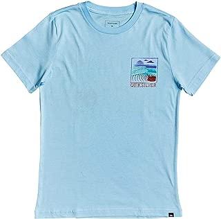 Quiksilver Boys AQBZT03570 Raw Angel Boys Tee Short Sleeve Shirt - Blue - L/14