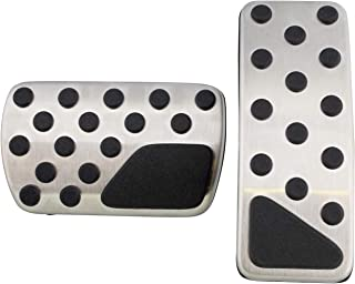 Dodge Charger Chrysler 300 Challenger stainless pedal pad kit
