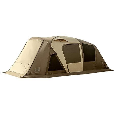 ogawa(オガワ) アウトドア キャンプ テント ロッジドーム型 ティエラ 5-EX 2 【5人用】 2776 ダークブラウン×サンドベージュ