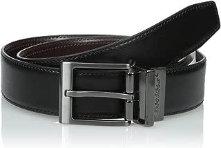 Dickies Men's Black-To-Brown Reversible Belt