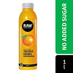 Raw Pressery Juice, Valencia Orange, 1L