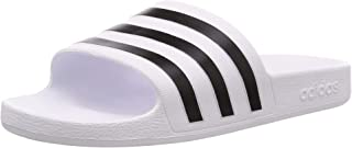 adidas Adilette Aqua Unisex Adults' Slides, Footwear White/core Black/Footwear White