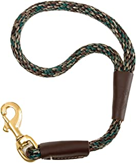 Mendota Pet Traffic Lead Short Leash, 1/2 by 16-Inch, Camo