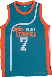 oldtimetown Flint Tropics Basketball Jersey S-XXXL, 90S Hip Hop Clothing Party, Stitched Letters Numbers