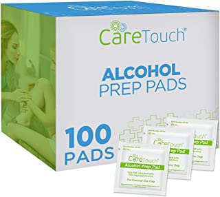 Sponsored Ad - Care Touch CTAP100-VC Sterile Alcohol Prep Pads, 2-Ply - 100 Wipes