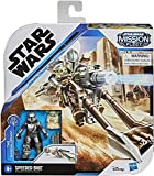 Collect Star Wars Mission Fleet - The Mandalorian and The Child- Speeder Bike and 2 x 2.5 inch Figures! Protect The Child!
