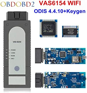 Car Diagnostic Tool VAS6154 Car Inspection Tool With WIFI ODIS V4.4.10 For Audi -Volkswagen Diagnostic Instrument