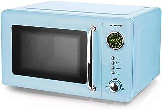 Emerio MW-112141.2 - Microondas (700 W, 20 L), diseño retro, color azul claro