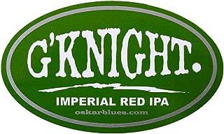 Oskar Blues Brewery - G`Knight Imperial Red Ale - Logo Sticker
