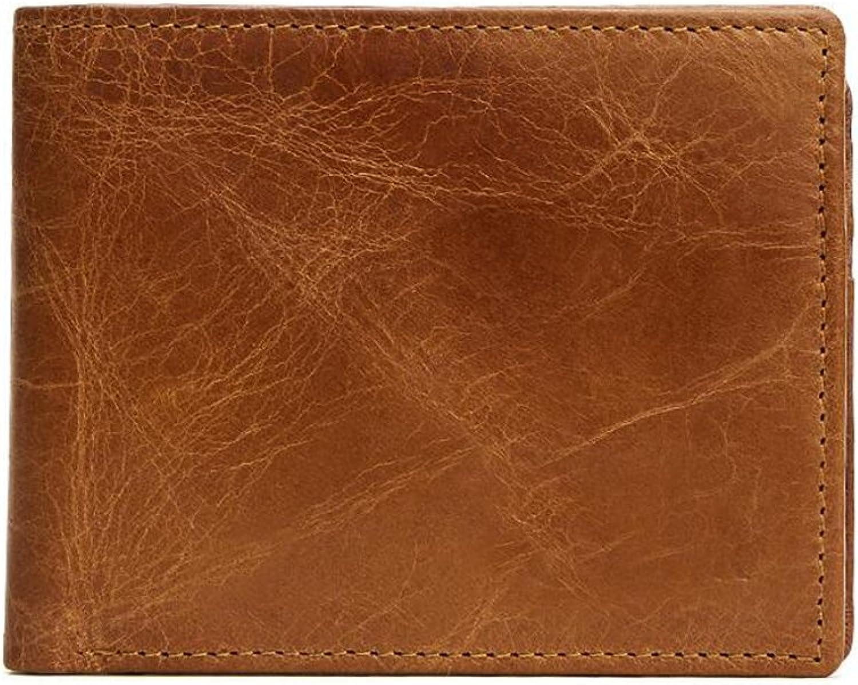 Sucastle Herren Leder Geldbörsen Geldbörsen Geldbörsen Portemonnaie Brieftasche RFID Schutz Große Kapazität Vintage Design, 1 B07CVWG42B 4c7700