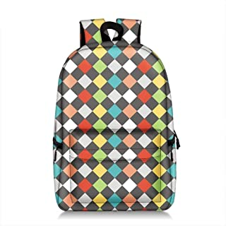 Asdfnfa Backpack, Unisex Waterproof Fashion Printed Backpack Cute School Book Bag for Boys and Girls (Color : 3)