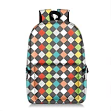 Asdfnfa Backpack, Unisex Waterproof Fashion Printed Backpack Cute School Book Bag for Boys and Girls (Color : 3)