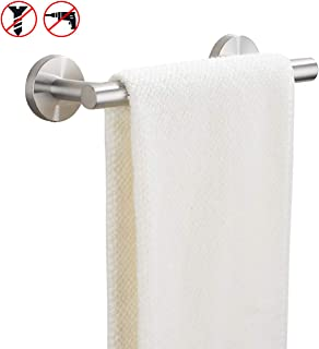 KES 9 Inches Hand Towel Bar Bathroom Towel Holder Kitchen Dish Cloths Hanger SUS304 Stainless Steel RUSTPROOF Wall Mount No Drill Brushed Steel, A2000S23DG-2