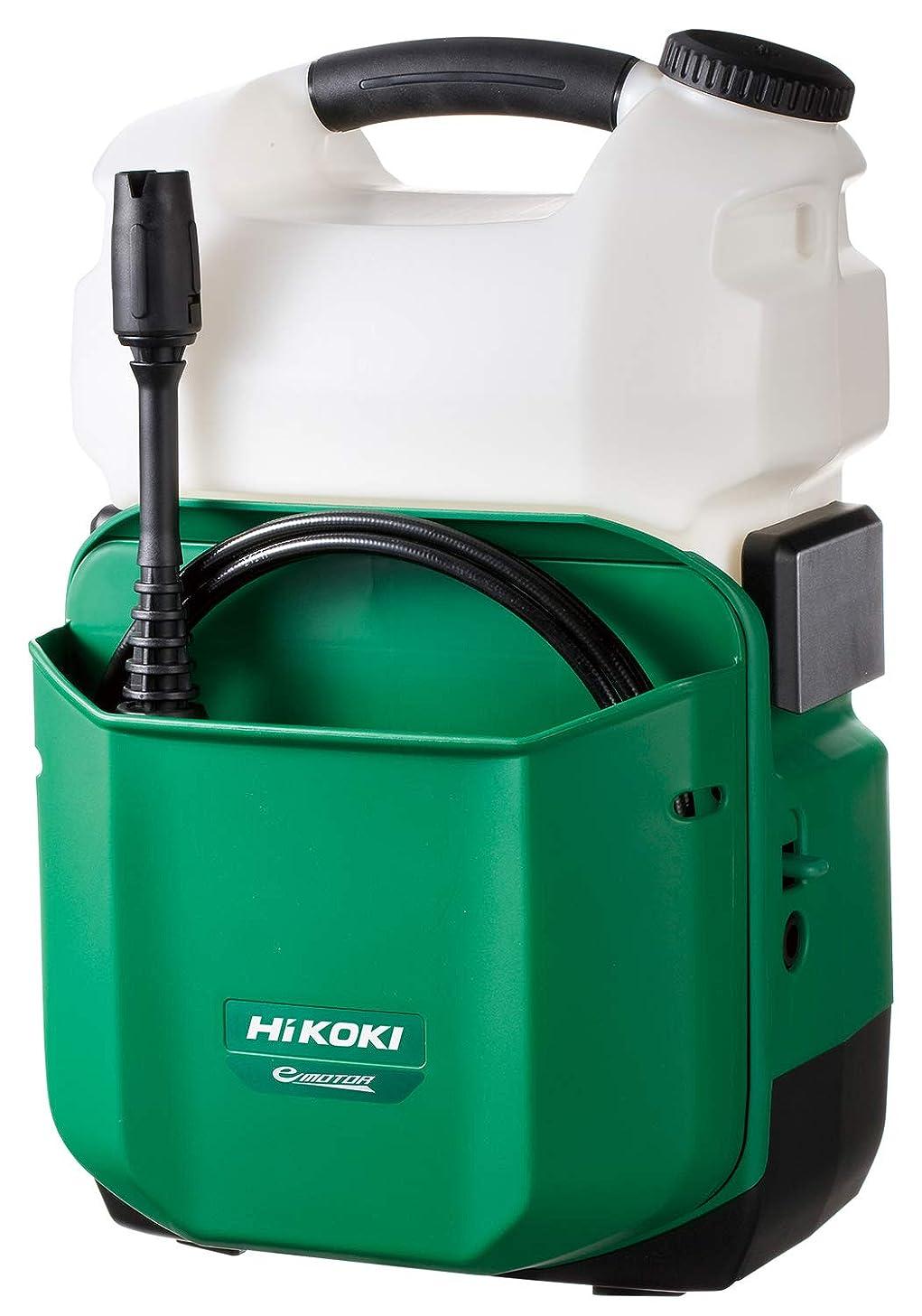 引退した安全な経験的HiKOKI(ハイコーキ)旧日立工機 18V コードレス高圧洗浄機 充電式 6.0Ahリチウムイオン電池、急速充電器付 AW18DBL(LYP)