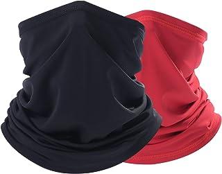THINDUST Summer Bandana Face Mask -Dust Sun UV Protection Neck Gaiter - for Men & Women