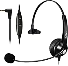 $28 » Callez Phone Headset with Noise Cancelling Microphone, Office Telephone Headsets for Cordless DECT Phones with 2.5mm Headp...