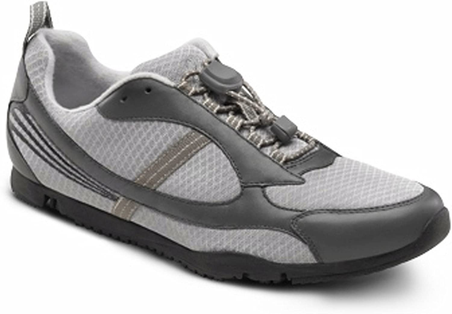 26a8b2193 Dr Dr Dr Comfort Gary Flex-OA Men's shoes for Knee Pain - Osteoarthritis OA  Leather-and-Mesh Lace 25fae9