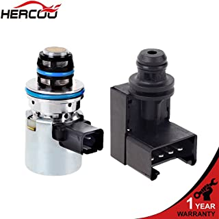 HERCOO Transmission Pressure Sensor & Governor Pressure Solenoid Kit 4617210 A518 42RE 44RE 46RE 47RE Compatible with 2000-UP Dodge Ram Jeep Grand Cherokee