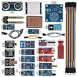 UMLIFE Sensor Modules Kit for Arduino Raspberry 22 in 1 Project Super Starter Kits for UNO R3 Nano V3.0 Mega 2560 Mega 328 Project Starter Kit