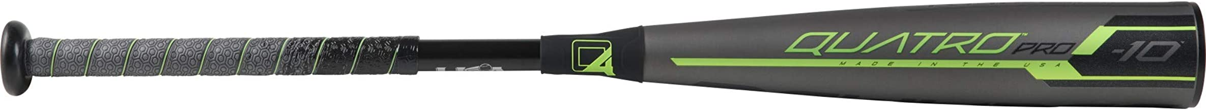 Rawlings 2019 Quatro Pro USA Youth Baseball Bat