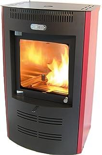 Tecno Air System sb325bx Estufa de bioetanol Ventilata Ruby, 3200W, Rojo