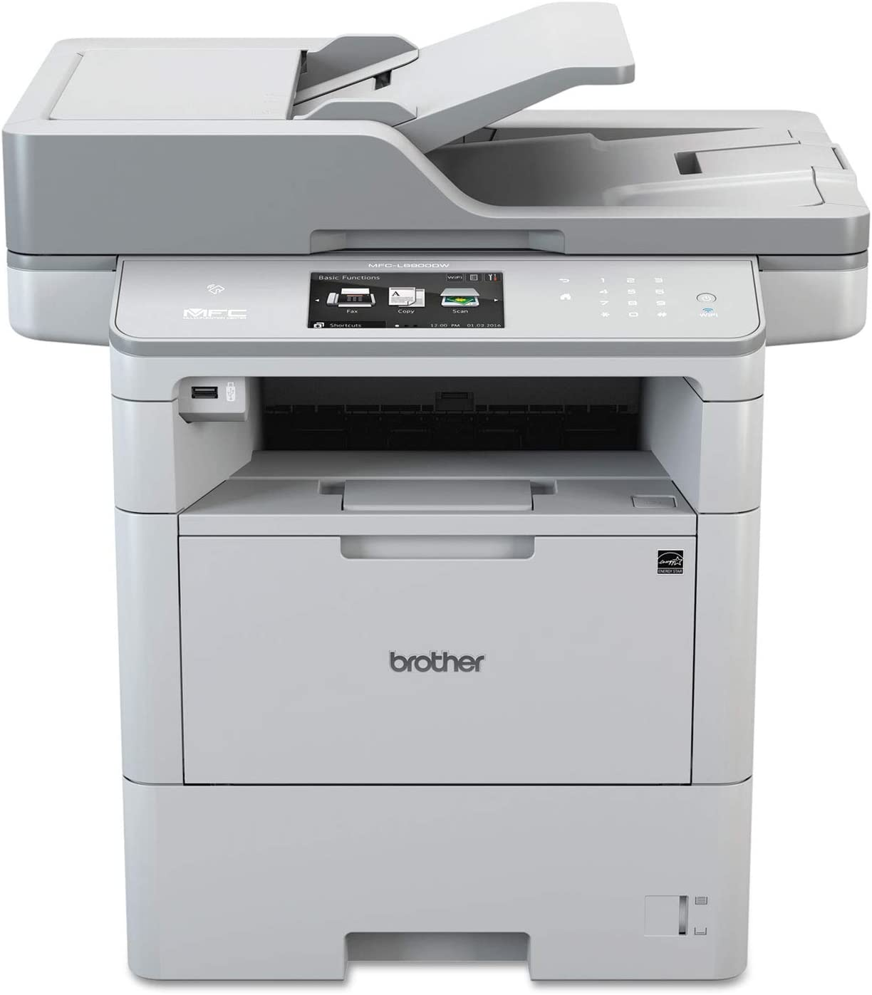 Brother MFCL6900DW Business Laser All-in-One Printer for Mid-Size Workgroups w/Higher Print Volumes