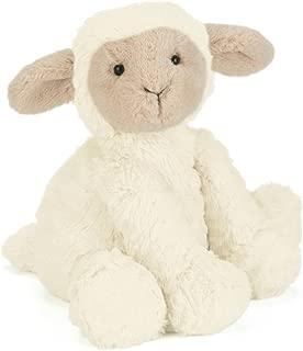 Jellycat Fuddlewuddle Lamb Stuffed Animal, Medium, 9 inches