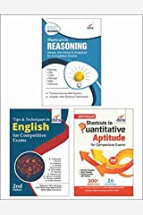 Shortcuts & Tips in Quantitative Aptitude/ Reasoning/ English for Competitive Exams 2nd Edition [eBook] Kindle Edition
