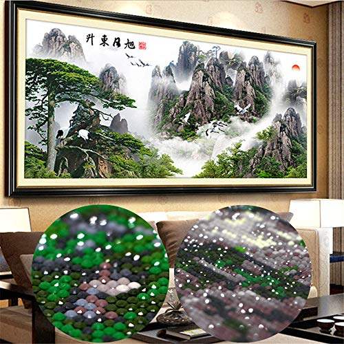 RAILONCH 5d Diamant Painting Kit Full Malerei DIY Handgemachtes Klebebild mit Digitale Sets Kreuzstich Wanddekoration